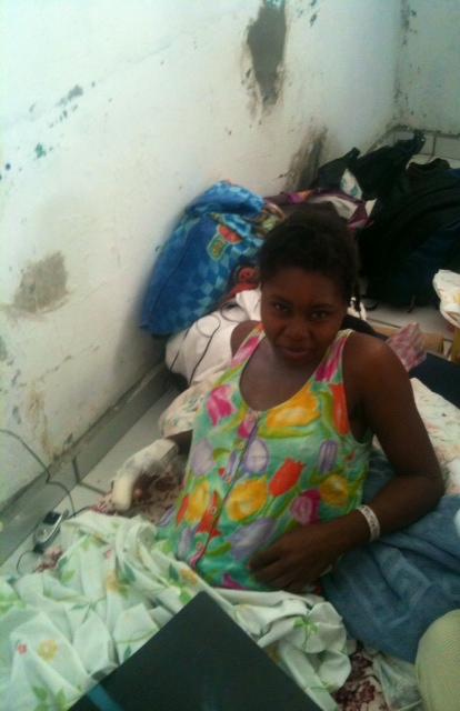Post-earthquake, St. Marc Hospital January 2010